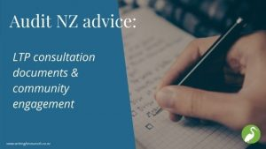 Audit NZ advice on LTP consultation documents and community engagement